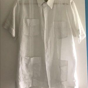 Men's Cuban linen shirt